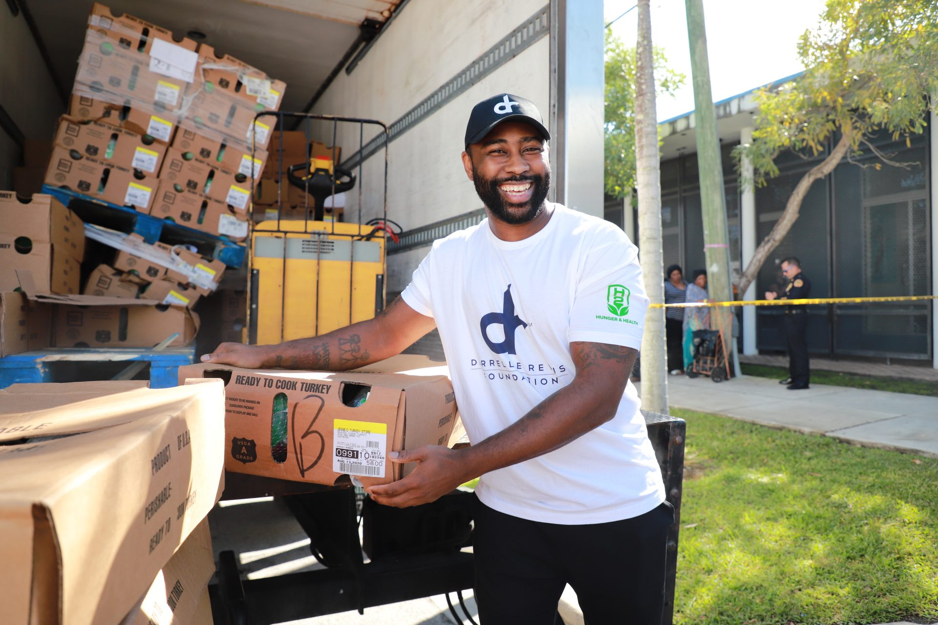 Turkey Giveaway - Darrelle Revis Foundation